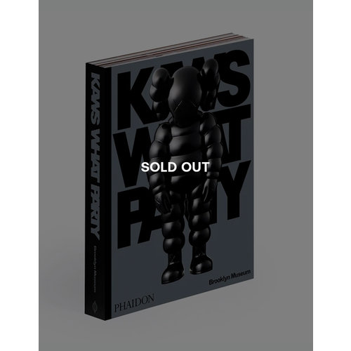 Phaidon KAWS*WHAT PARTY (Black edition)