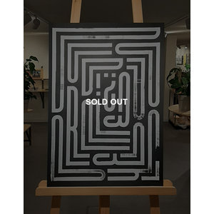 Guido de boer - Untitled (Do you read me?  Inverted, 2021) (SOLD OUT)