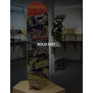 Zedz Satellite 01 Skatedeck (SOLD OUT)