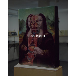 Nychos - Dissection of Mona Lisa, 1000 piece jigsaw puzzle  (SOLD OUT)