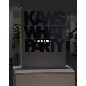 KAWS*WHAT PARTY (Yellow ed.) (SOLD OUT)