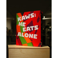 van ditmar KAWS : HE EATS ALONE