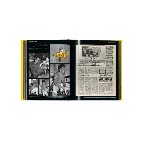 Taschen Warhol on Basquiat. Andy Warhol's Words and Pictures