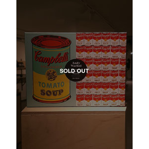 Andy Warhol - Soup can, 2-sided 500 piece puzzle (SOLD OUT)