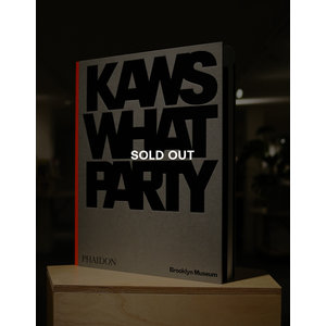 KAWS*WHAT PARTY (Orange ed.) (SOLD OUT)