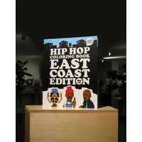 van ditmar Hip Hop Coloring Book East Coast Edition