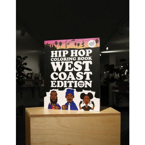 van ditmar Hip Hop Coloring Book West Coast Edition