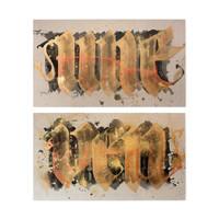 Shoe SHOE - Uneven I & II (Diptych)