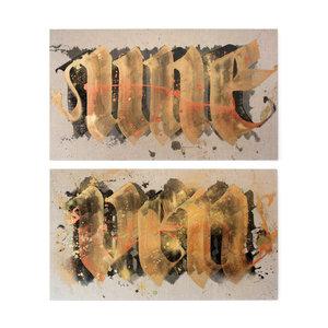 SHOE - Uneven I & II (Diptych)
