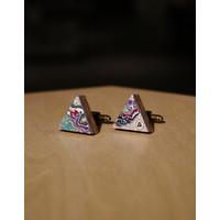 Koema Cufflinks Triangle #001