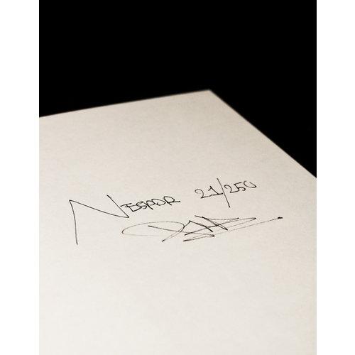 Straat Museum Daan Rietbergen - Nespor Type Specimen book (signed)