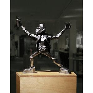 Air Dondi - Gunmetal Sculpture