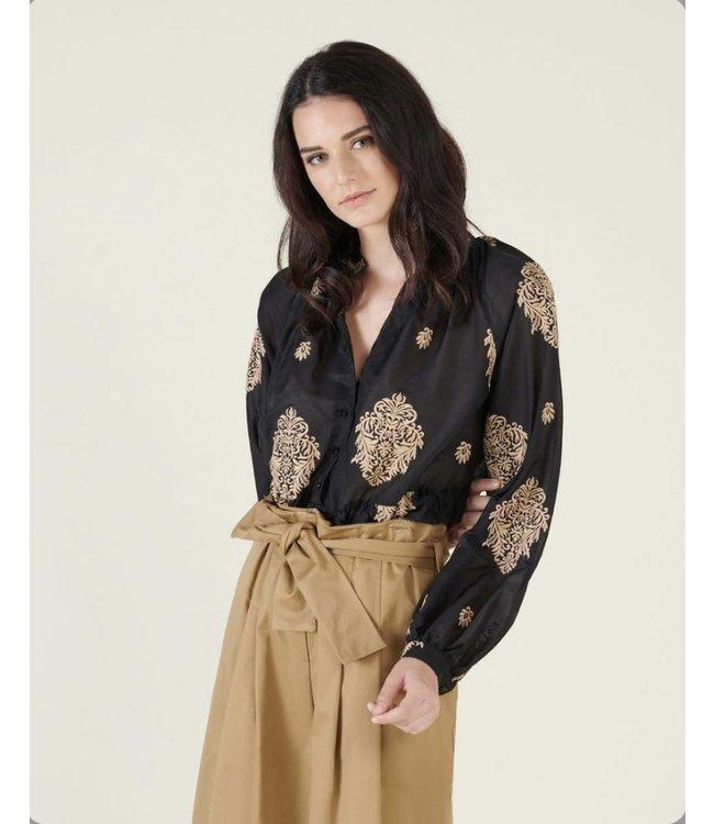 Silvian Heach Silvian Heach blouse PGP21333BL