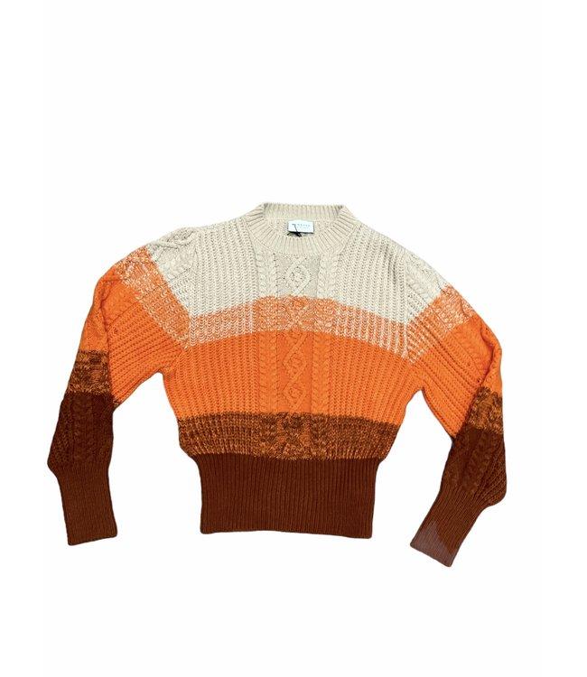 Nenette Nenette Sweater 32TJ-Mandorlo