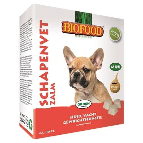 Biofood Biofood schapenvet mini bonbons zalm