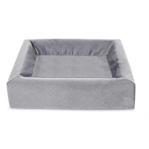 Bia bed Bia bed royal fluweel overtrek hondenmand grijs