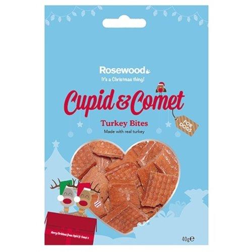 Cupid & comet Cupid & comet kalkoen bites kerstsnack