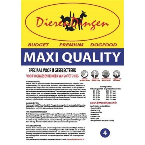 Merkloos Budget premium dogfood adult maxi quality