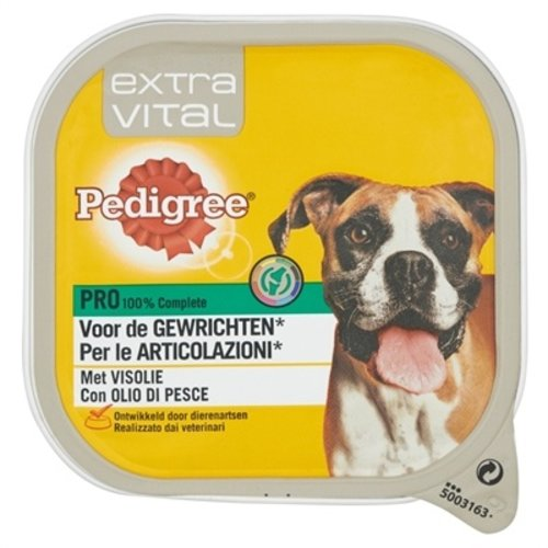 Pedigree 10x pedigree alu extra vital voor gewrichten