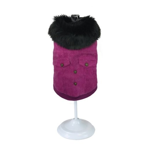 Croci Croci hondenjas pink velvet fluweel roze