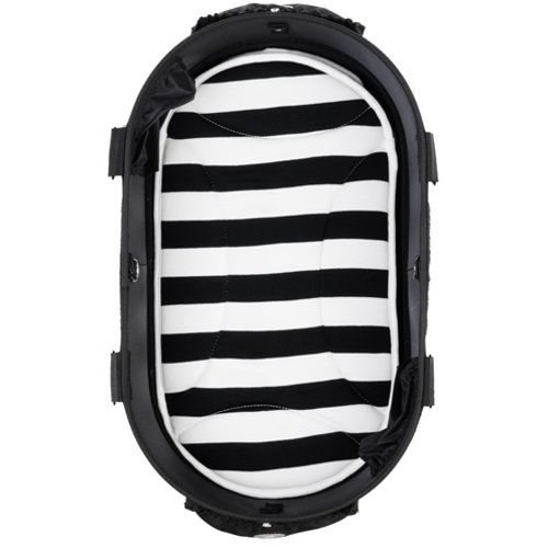 Airbuggy Airbuggy mat voor dome2 sm streep zwart / wit
