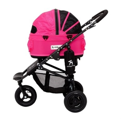 Airbuggy Airbuggy hondenbuggy dome2 sm met rem rose roze
