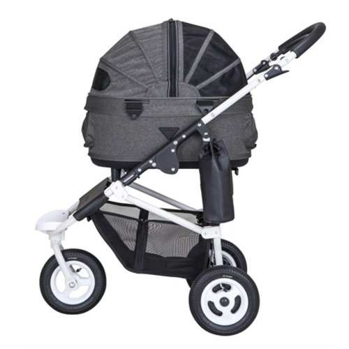 Airbuggy Airbuggy hondenbuggy dome2 sm met rem urban grijs