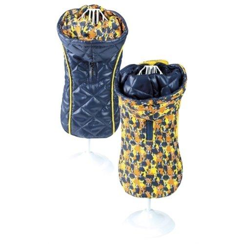 Croci Croci hondenjas frenchie tweezijdig oranje / blauw
