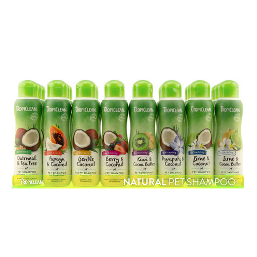 Tropiclean Tropiclean International Shampoo Display 24x355ml Shampoo