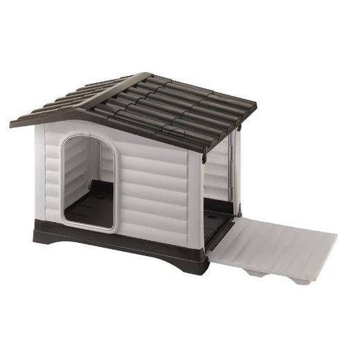Ferplast Ferplast hondenhok Dogvilla 111 x 84 cm zwart/wit