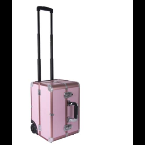 Groom -X Groom-X Materiaalkoffer Pink Deluxe Draagbaar met wielen - Roze