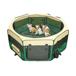 Show Tech Show Tech Pet Play Park Blauw/groen - 8x37cmBx37cmH Puppy Ren