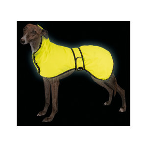 """Max+co Max+Co Hondenjas voor alle Weersomstandigheden""""Slim Fit"""" High Visibility 35cm Jas"""