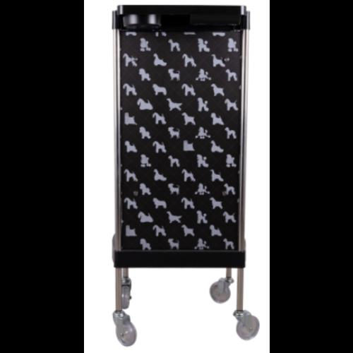 Groom-x Groom-X Trolley Zwart - materiaalkarretje