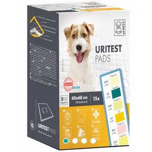 M-Pets M-Pets pads Urinetest 60 x 60 cm textiel wit 15 stuks