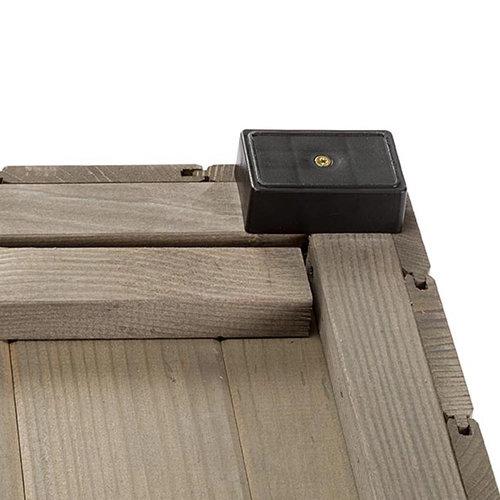 Ferplast Ferplast hondenhok Argo 100 114,5 x 73 cm hout grijs