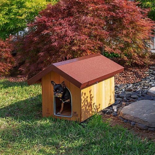 Ferplast Ferplast hondenhok Domus klein 60,5 x 73,5 cm hout naturel