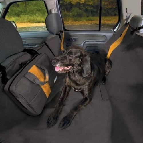 Kurgo Kurgo hondendeken auto Hammock 142 cm polyester zwart