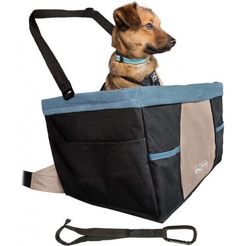 Kurgo Kurgo autostoel hond 40,6 x 30,5 cm polyester zwart/blauw