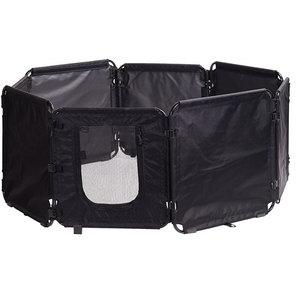 M-Pets M-Pets puppyren Cargo 86 x 61 cm opvouwbaar textiel zwart