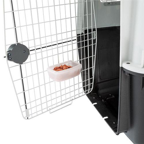 Ferplast Ferplast hondenvervoersbox Atlas 118 cm staal grijs/zwart