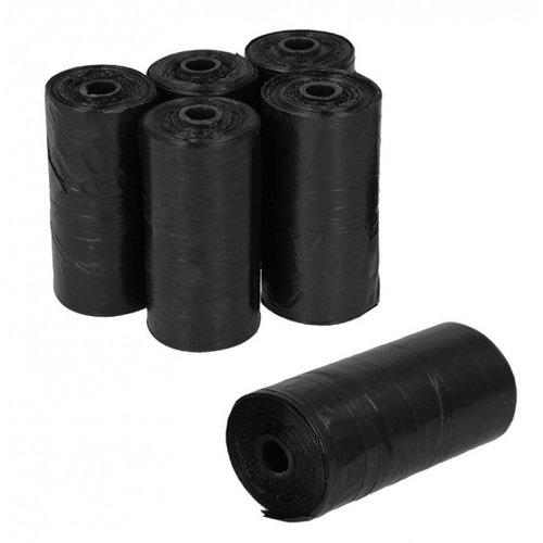 Metaltex Metaltex poepzakjes 23 x 33 cm zwart 120 stuks
