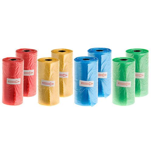 Ferplast Ferplast poepzakjes 22 cm polyetheen 160 stuks 8 rollen