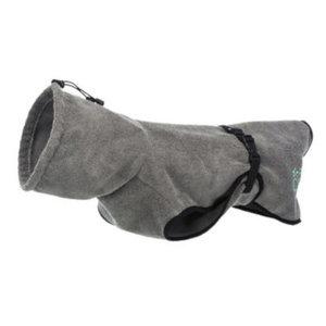 Trixie Trixie hondenbadjas 40 cm polykatoen grijs