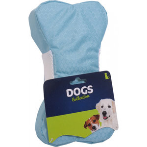 Dogs Collection Dogs Collection koelspeelgoed bot 23,5 x 5,5 cm foam lichtblauw