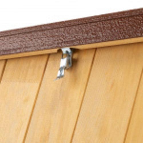 Ferplast Ferplast hondenhok Baita 56 x 46,5 cm hout naturel/bruin
