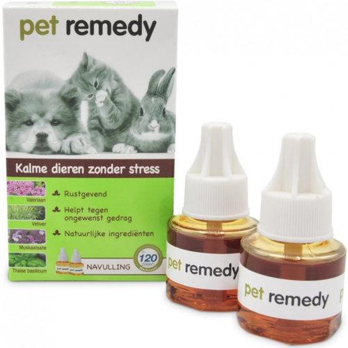 Pet Remedy Pet Remedy navulling verdamper 40 ml 2 stuks