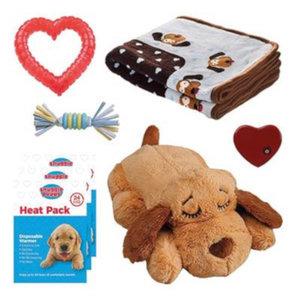 Altranet Altranet puppypakket Snuggle 30 x 20 cm pluche bruin 8-delig