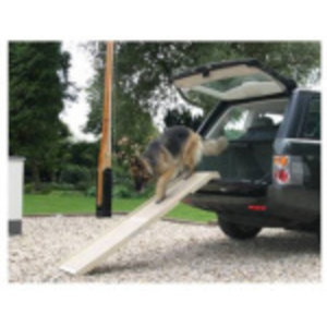 Altranet Altranet hondenloopplank DogStep 180 cm rubber antraciet