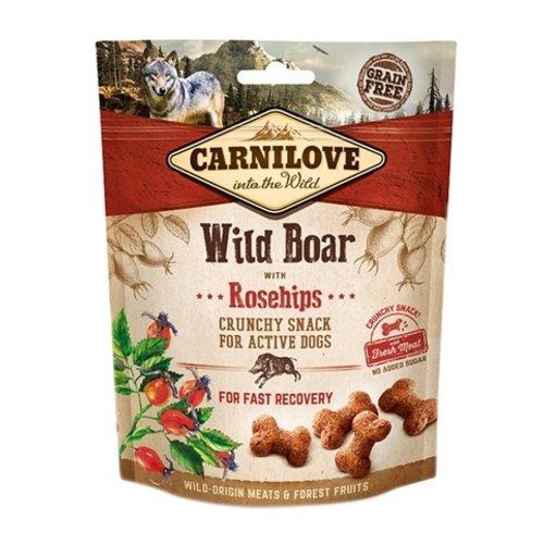 Carnilove Carnilove crunchy snack everzwijn / rozenbottel
